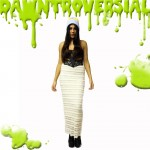 960 x 960 SLIME PRODUCT SQUARE maxi cream skirt