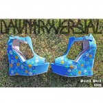 daisy duke wedges dawntroversial ladies womens shoes