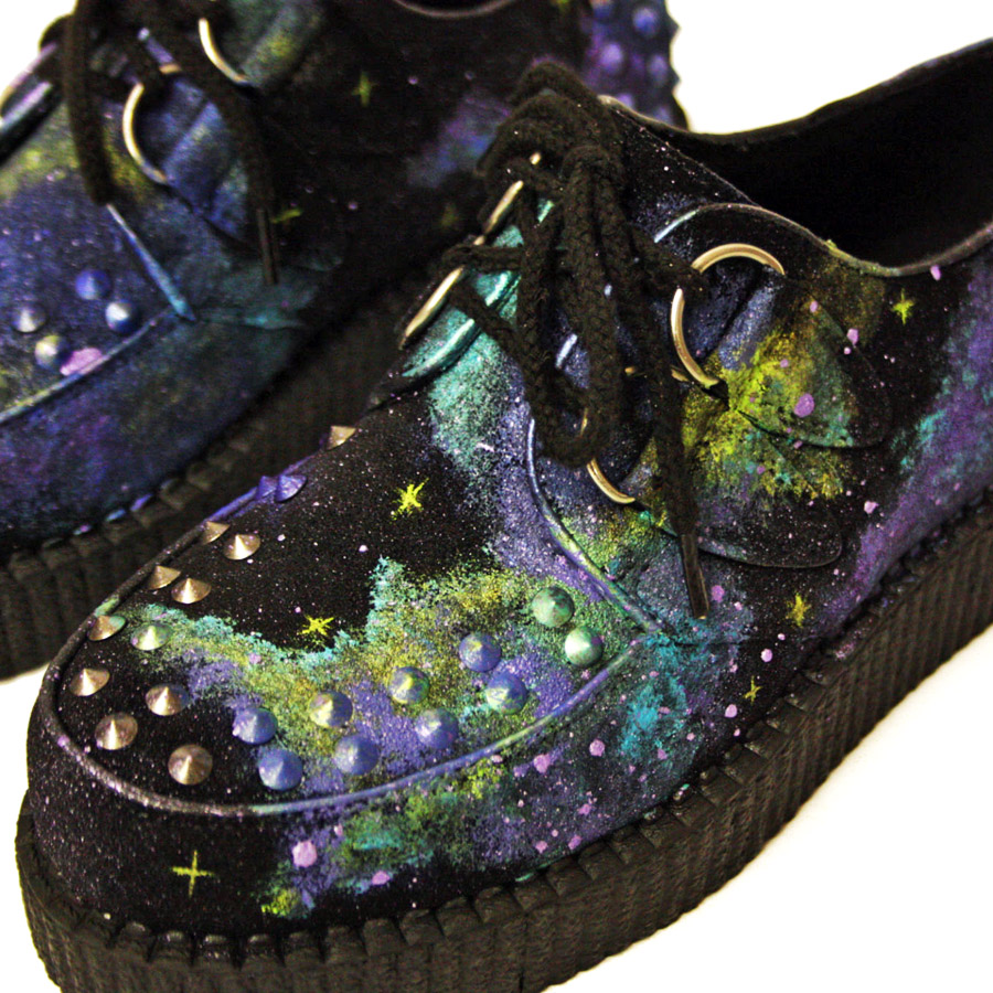 Night Creeper - Studded Customised Platforms
